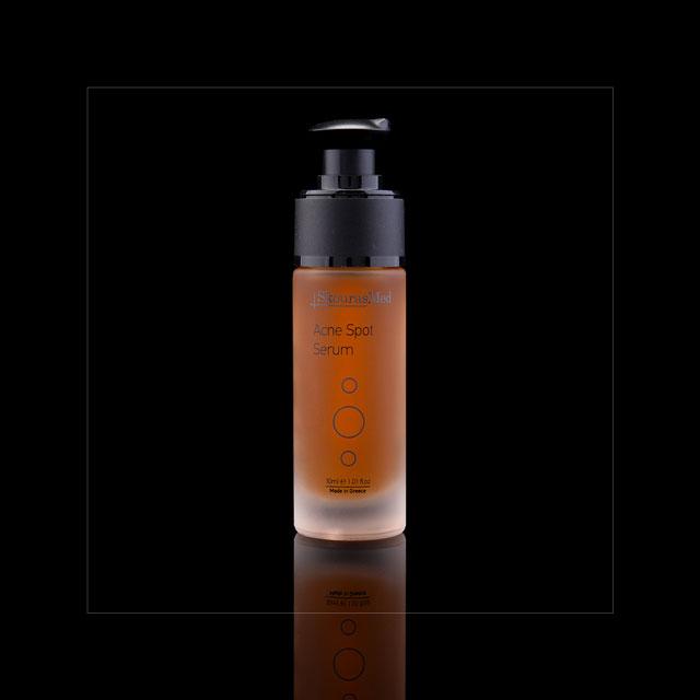 https://www.skourasmed.com/SkourasMed Cosmetic: Acne Spot Serum - Black background
