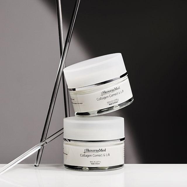 https://www.skourasmed.com/SkourasMed Cosmetic: Collagen Correct & Lift - Two Structure Image